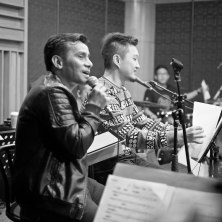 At the rehearsal : Ricky Lionardi Chamber Orchestra accompanying Mike , Judika, Isyana Sarasvati and Josh Kaufman (The Voice US 2014) for Wilson Pesik & Vania Larissa Wedding