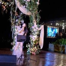 Isyana Sarasvati accompanied by Ricky Lionardi Chamber Orchestra in Wilson Pesik & Vania Larissa Wedding Reception
