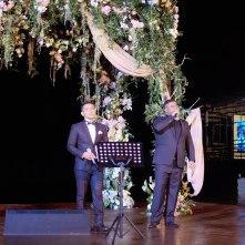 Mike and Judika accompanied by Ricky Lionardi Chamber Orchestra in Wilson Pesik & Vania Larissa Wedding Reception