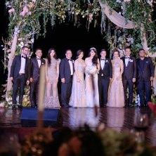 Mike, Judika, Isyana Sarasvati & Josh Kaufman (The Voice US 2014) accompanied by Ricky Lionardi Chamber Orchestra in Wilson Pesik & Vania Larissa Wedding Reception